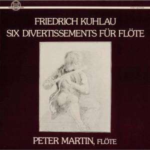 Album Kuhlau: Six Divertissements für Flöte from Peter Martin