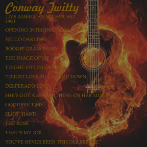 Album Live American Broadcast - 1990 from Conway Twitty