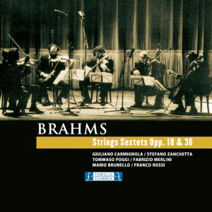 Album Brahms - Strings Sextets Opp. 18 & 36 from Classical Artists