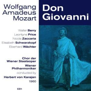 Album Wolfgang Amadeus Mozart: Don Giovanni (1960), Volume 1 from Nicola Zaccaria