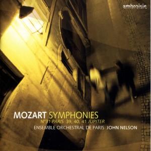 """Album Mozart: Symphonies Nos. 31 """"Paris"""", 39, 40 & 41 """"Jupiter"""" from Ensemble Orchestral de Paris"""