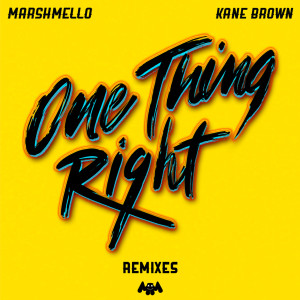Marshmello的專輯One Thing Right (Remixes)