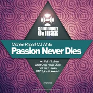 Album Passion Never Dies from MJ White