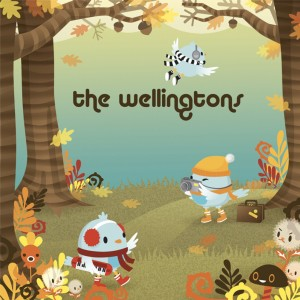 Album Heading North for the Winter from The Wellingtons