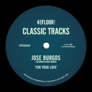 Album For Your Love (feat. Kenny Bobien) from Jose Burgos