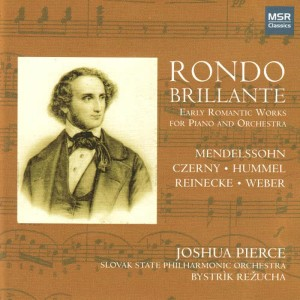 Album Rondo Brillante - Early Romantic Works for Piano and Orchestra from Slovak State Philharmonic Orchestra