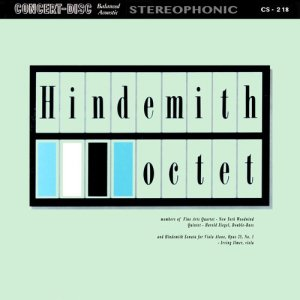 Album Hindemith: Octet & Sonata for Viola Alone, Op. 25, No. 1 (Remastered from the Original Concert-Disc Master Tapes) from Fine Arts Quartet