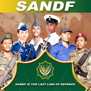 Album Sandf Is The Last Line Of Defence from Mpho Thosago