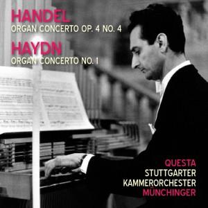 Album Handel: Organ Concerto Op. 4 No. 4 - Haydn: Organ Concerto No. 1 from Stuttgarter Kammerorchester