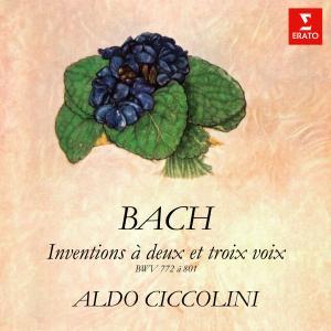 Aldo Ciccolini的專輯Bach: Inventions et sinfonies à deux et trois voix, BWV 772 - 801