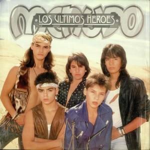 Menudo的專輯Los Ultimos Heroes