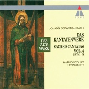 Album Bach, JS : Sacred Cantatas Vol.4 : BWV 61-78 from Concentus Musicus Wien