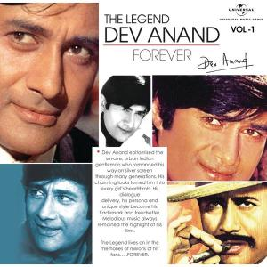 The Legend Forever - Dev Anand - Vol.1 2012 Various Artists