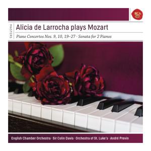 Alicia de Larrocha的專輯Alicia de Larrocha Plays Mozart