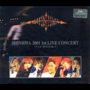 神話的專輯First Mythology: 2001 1st Live Concert