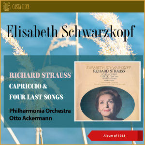 Philharmonia Orchestra的專輯Richard Strauss: Capriccio & Four Last Songs (Album of 1953)