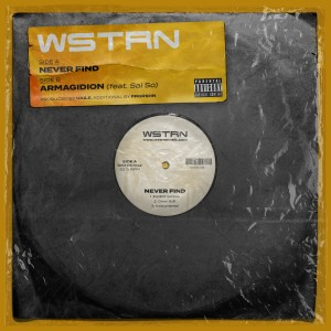 Album Never Find / Armagidion from WSTRN