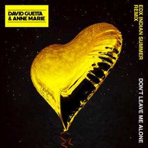 收聽David Guetta的Don't Leave Me Alone (feat. Anne-Marie) (EDX's Indian Summer Remix)歌詞歌曲