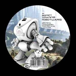 Album Robotwars / Crawlers from Amaning & Bionic1