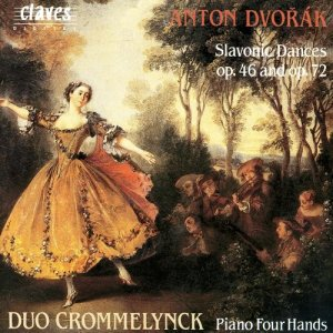 Album Dvořák: Complete Works for Piano 4 Hands, Vol. II from Duo Crommelynck