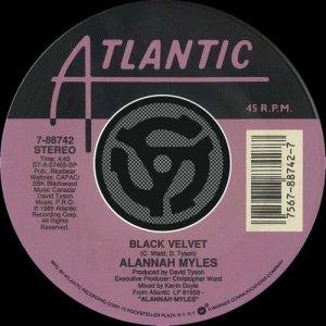 Album Black Velvet / If You Want To [Digital 45] (w/ PDF) from Alannah Myles
