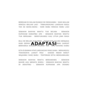 Album Adaptasi from Tulus