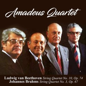Album Ludwig van Beethoven: String Quartet No. 10, Op. 74 / Johannes Brahms: String Quartet No. 3, Op. 67 from Amadeus Quartet