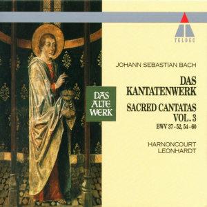 """Listen to Cantata, Gott fähret auf mit Jauchzen, BWV 43: """"Es will der Höchste sich ein Siegsgepräng bereiten"""" song with lyrics from Concentus Musicus Wien"""