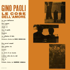 Album Le Cose Dell'Amore from Gino Paoli