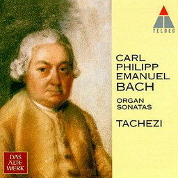 Album Bach, CPE : Organ Sonatas from Herbert Tachezi