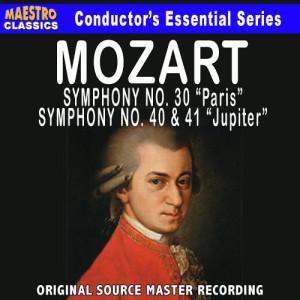 Album Mozart: Symphony No. 31, 40 & 41 from Salzburg Mozarteum Orchestra