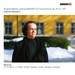 Album Original Works Used for Mozart's Concertos from Cyprien Katsaris