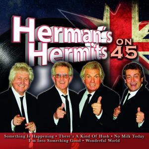 Album Herman's Hermits on 45 from Herman's Hermits