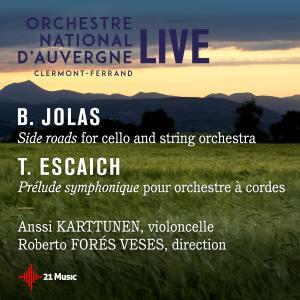 Album Betsy Jolas, Side Roads, Thierry Escaich: Prélude symphonique from Anssi Kartunen