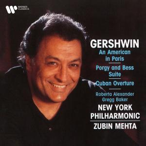 Album Gershwin: An American in Paris, Selections from Porgy and Bess & Cuban Overture from New York Philharmonic