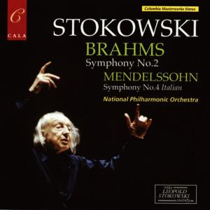 Album Brahms: Symphony No. 2 - Mendelssohn: Symphony No. 4 from National Philharmonic Orchestra