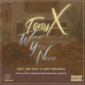 Album What You Need from Tony X