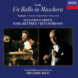 Album Verdi: Un ballo in maschera (Highlights) from The National Philharmonic Orchestra