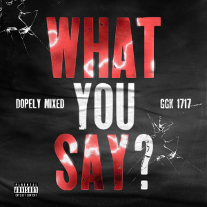 Album What You Say ? (Explicit) from GGK 1717