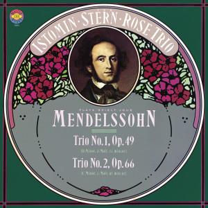 Album Mendelssohn: Trios 1 & 2 from Isaac Stern
