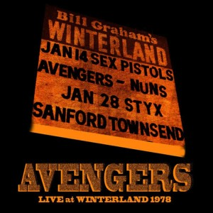 The Avengers的專輯Live At Winterland 1978