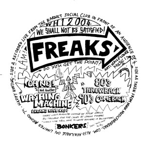Album We Shall Not Be Satisfied from Freaks