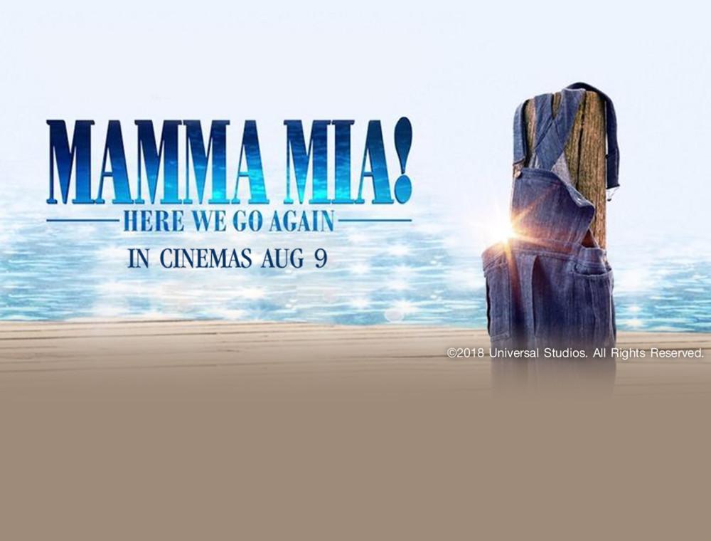 เตรียมตัวพบกับละครเพลงสุดยิ่งใหญ่ Mamma Mia 2 Here We Go Again พร้อมลุ้นรับบัตรชมภาพยนตร์รอบพิเศษก่อนใคร!!