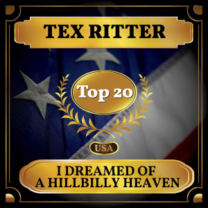 Album I Dreamed of a Hillbilly Heaven from Tex Ritter