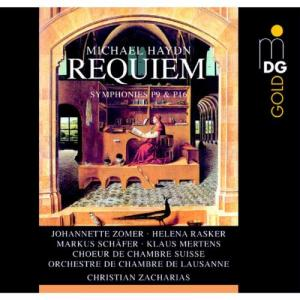 Album Michael Haydn: Requiem, Symphonies P9 & 16 from Christian Zacharias