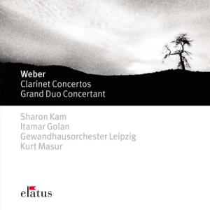 Sharon Kam的專輯Weber : Clarinet Concertos Nos 1, 2 & Grand Duo Concertant  -  Elatus