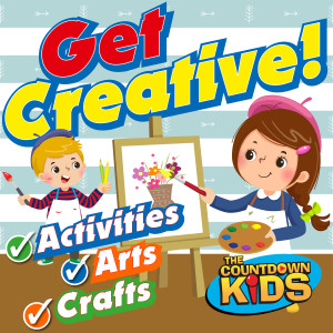 The Countdown Kids的專輯Get Creative! Fun Songs for Activities, Arts & Crafts