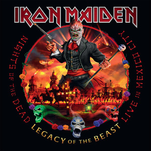 Album Nights of the Dead, Legacy of the Beast: Live in Mexico City from Iron Maiden