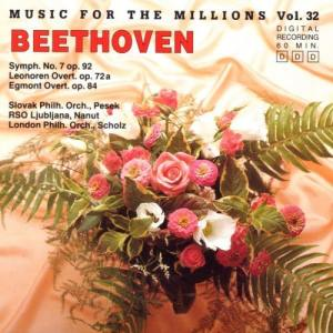 Album Music For The Millions Vol. 32 - Ludwig van Beethoven from Ljubljana Radio Symphony Orchestra
