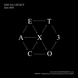 EX'ACT (Chinese ver.) - The 3rd Album 2016 EXO